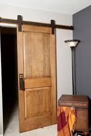 barn door interior pine duplex mdf barn door with sliding door