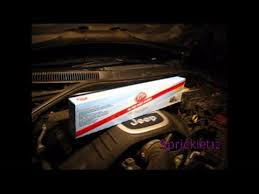 cabin air filter jeep grand cherokee wk youtube