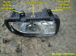 toyota mr2 fog lights knowledge base how to replace the fog l unit bulb
