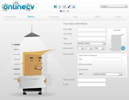 Resume Creator Free Online by Cv Generator Free Resume Templates Cv Generator Maker Create Fast
