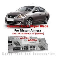 nissan almera promotion nissan almera size 21 14 genuine bosch wiper blades
