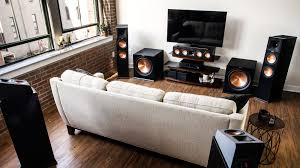 reference premiere dolby amos series speakers klipsch