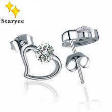 moissanite earrings popular 1 ct moissanite earrings buy cheap 1 ct moissanite