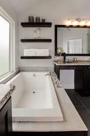 Decorating Bathroom Shelves Bathroom Shelves Tub Decorating Ideas Image Gallery Pic Of Light