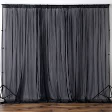 voile backdrop 10x10 ft curtain photo booth wedding