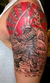 collection of 25 half sleeve japanese rising sun and city tattoos