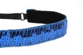 sequin headbands women s adjustable non slip headbands in sparkle sequins mavi bandz
