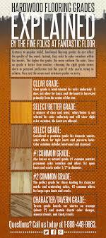 fantastic floor hardwood flooring grades explained infographic