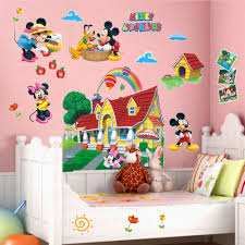 compare prices on vinyl sticker nursery decor online shopping buy mickey mouse clubhouse 3d wall decals sticker kids nursery decor mural vinyl art china