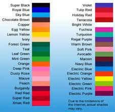 americolor color chart real fitness