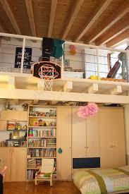 basketball loft bedroom hoop
