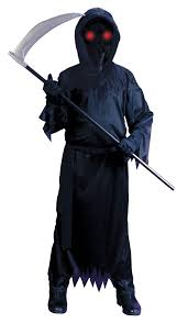 Reaper Halloween Costume Fade Unknown Phantom Costume Kids Costumes