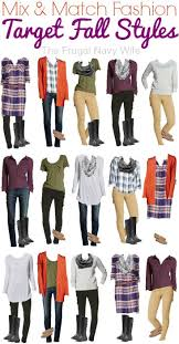 and match clothing target fall styles