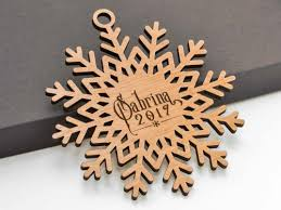 custom name snowflake ornament 05 personalized wayvdesigns