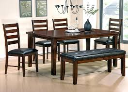 Dining Room Sets Bench Casual Dining Tables And Chairs U2013 Mitventures Co