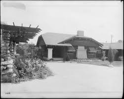 file exterior view of a california bungalow east colorado street