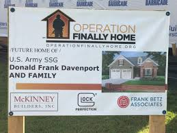home project u s army staff sgt donald davenport chosen for operation finally