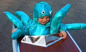 Octopus Halloween Costumes Baby Octopus Attacks Boat Halloween Costume Octopus