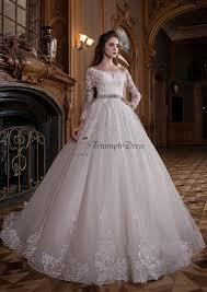 Wedding Dresses Ball Gown Wedding Dress Ball Gown With Sleeve