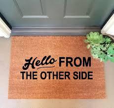 Long Doormats Best 25 Coir Doormat Ideas On Pinterest Coir Welcome Mats And