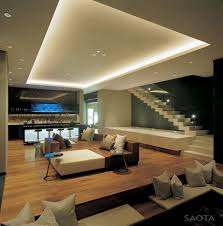 modern house living room decor house media