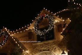 large outdoor lighted wreath sacharoff decoration