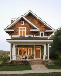 craftsman home plans narrow lot craftsman house plans