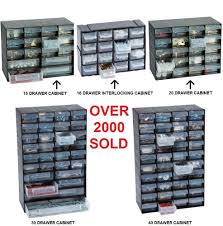 multi drawer storage cabinet unit small parts nail craft