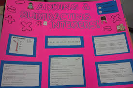 differentiation through student choice math integer project