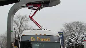 montreal u0027s new electric battery powered bus youtube