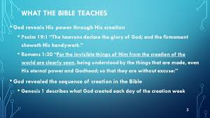 chapter 9 key terms biblical creationism evolutionism literal view