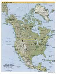 america map guatemala america physical map 2000 size