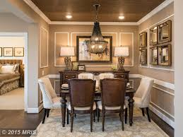 traditional dining room with chair rail u0026 carpet zillow digs