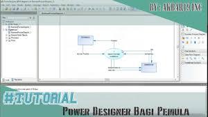 flowchart membuat sim cara membuat data flow diagram menggunakan aplikasi power designer