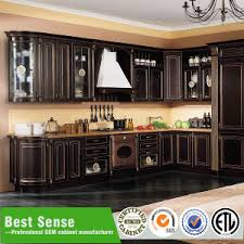 China Kitchen Cabinet by Solid Teak Wood Kitchen Cabinet Unit China Kitchen Cabinet Factory