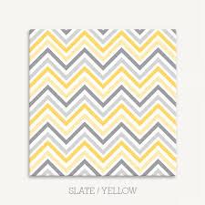 chevron pattern canvas print for nursery