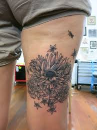 64 best flower tattoos images on pinterest