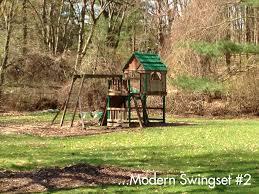 the backyard swing set the family room bright horizons