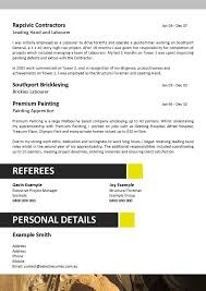 labourer resume template resume template australia mining frizzigame resume example mining frizzigame