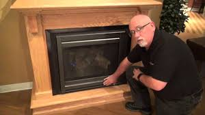 heatilator gas fireplace operation video youtube