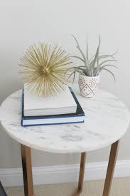 marble accent table incredible marble top accent table guest bedroom makeover facil