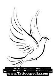 drawn dove pencil and in color drawn dove