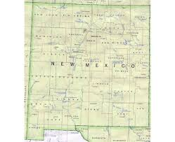 Mexico 1821 Map by Maps Of New Mexico State Collection Of Detailed Maps Of New