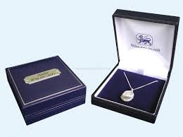 necklace gift boxes images Wholesale photo locket necklace with personalised gift box buy jpg