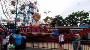 coney island luna park around the park vlog july 19 2014