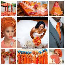 orange fuchsia pink turquoise blue wedding color scheme