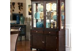 cabinet glass door credenza awesome sideboard with glass doors