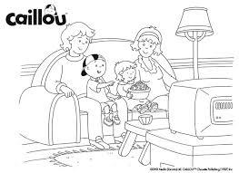 caillou u0027s family fun u2013 coloring sheet baby