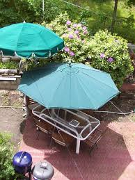Replacement Patio Umbrella Canvas by Umbrella Canvas Flip From Faded To Shinny Youtube
