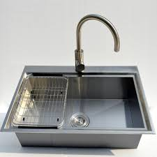 Top Kitchen Sink 28 X 18 18 Durable Stainless Steel Single Bowl Made